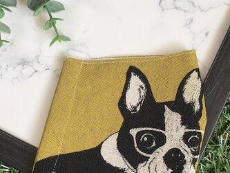 秋冬マスク 立体マスク キッズ オトナ フレブル  フレンチブルドッグ 犬の画像