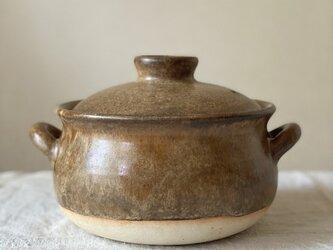 土鍋(2合炊き) ご飯炊き土鍋の画像