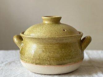 土鍋(1.5合炊き) ご飯炊き土鍋の画像