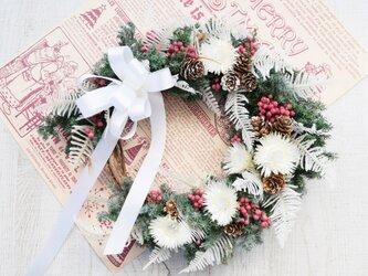 クリスマス・ウインターリース(舞い落ちた…天使の羽)11月7日まで早割りキャンペーンやってます!!の画像
