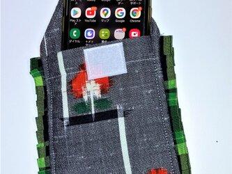 スマホケース:着物で創りました。9×15 おしゃれなスマホケース!の画像