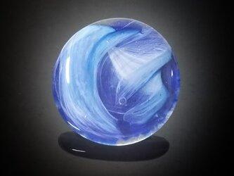 一点物☆世界でたった一つのガラスの帯留めの画像