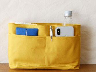 ハチミツ 倉敷産帆布使用バッグインバッグ【受注製作】の画像