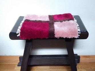 手織り椅子敷き・4 ~wool~の画像
