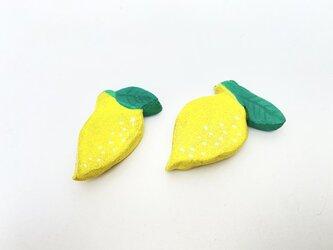 レモンの箸置き(2個入り)の画像