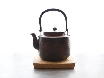 鍋敷き 【ブラックウォールナット】割れの画像