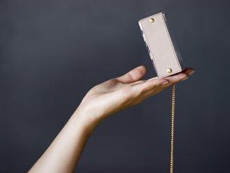 PVC キーケース <ちいさめ> (グレージュ)の画像