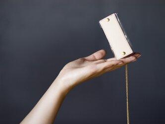 PVC キーケース <ちいさめ> (ベージュ)の画像