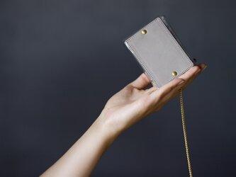 PVC キーケース <おおきめ>(グレー)の画像