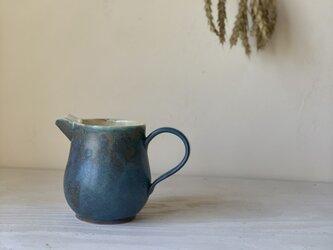 ターキッシュブルー釉 ピッチャーの画像