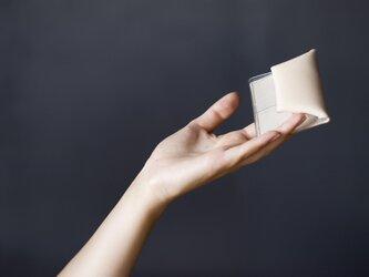 PVCコインケース(ベージュ)の画像