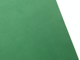 本革A4サイズ レノマ型押し      【グリーン】の画像