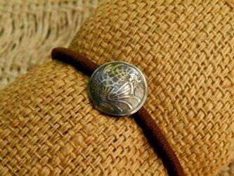 #H82  Singapura Coin Hair Elasticの画像