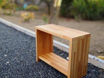マルチに使えるベンチテーブル【ウォルナットオイル仕上げ】の画像