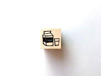 <ゴム製スタンプ>「ミルク」の画像