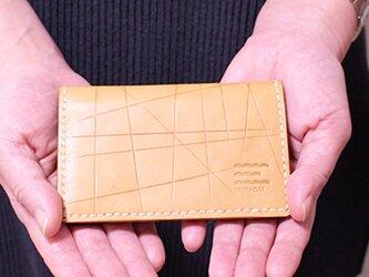 カードケース/ベージュの画像