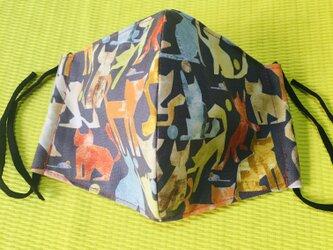 布マスク84綿×ダブルガーゼの画像