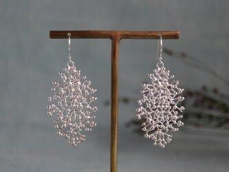 Silver earring 「Winter」の画像