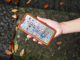 Leather handmade case  /  iPhone 11シリーズ:【カラー】ブラウンの画像