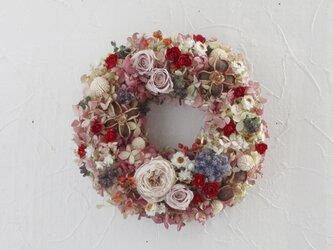 a little dress up wreathの画像