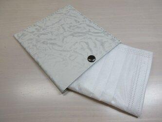 不織布マスクをお洒落に収納♪本革製・一枚革の不織布マスクケース・0116の画像