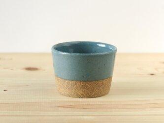 フリーカップ~ターコイズブルーの画像