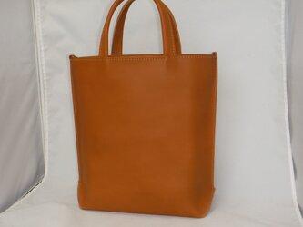 外縫いトートバッグの画像