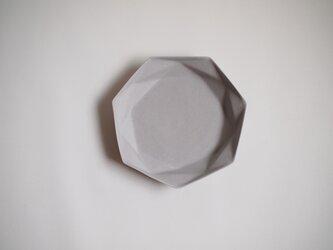 origamiプレート大(グレー)の画像