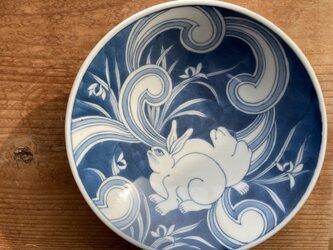 うさぎの平鉢の画像