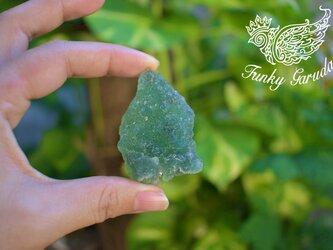 キラキラドゥルージー★フローライト 原石 flo023の画像