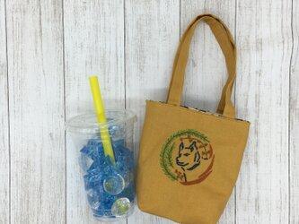 カフェバッグ  リース芝犬の画像