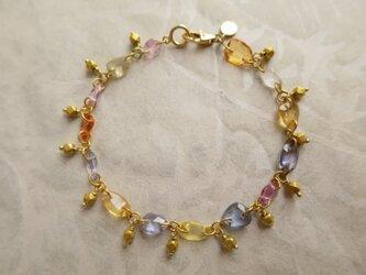 K18 Multi Sapphire Braceletの画像