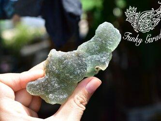 キラキラ素材★大きなフローライト原石 flo019の画像