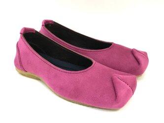 SQUARE shoes #micro-fiber #受注製作の画像