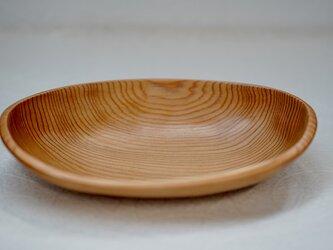 吉野杉 楕円型ボウルの画像