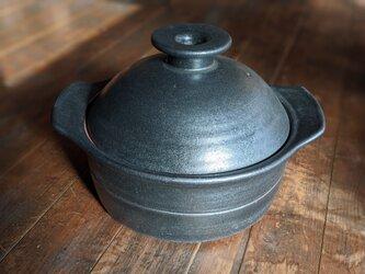 鉄釉土鍋の画像