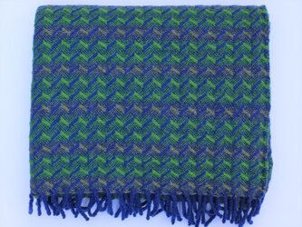 Lambswool Blanket - Optic Zigzagの画像