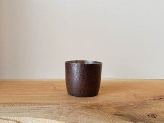 【 iichi 期間限定モデル 】銅製 ちょい飲みグラス 錫引き #2の画像