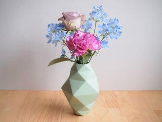 origami花瓶(ライム)の画像