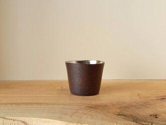 【 iichi 期間限定モデル 】銅製 ちょい飲みグラス 錫引き #1の画像