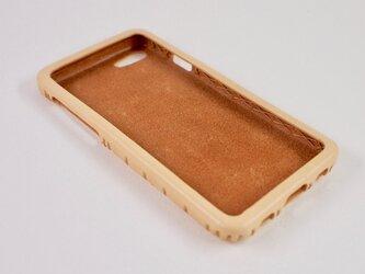Leather handmade case  /  iPhone SE:【カラー】ナチュラルの画像
