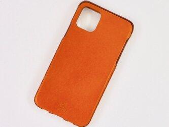 Leather handmade case  /  iPhone 11シリーズ:【カラー】キャメルの画像