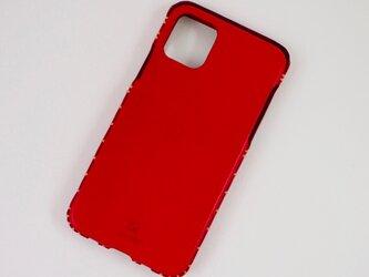 Leather handmade case  /  iPhone 11シリーズ:【カラー】レッドの画像