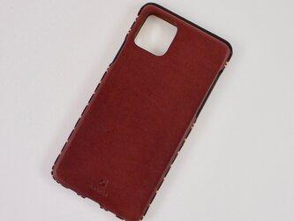 Leather handmade case  /  iPhone 11シリーズ:【カラー】マホガニーの画像