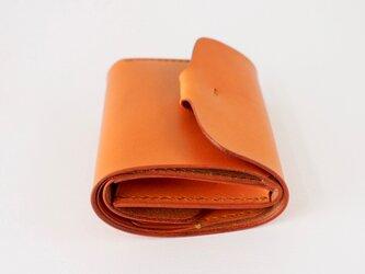 折りたたみ財布:【カラー】キャメルの画像