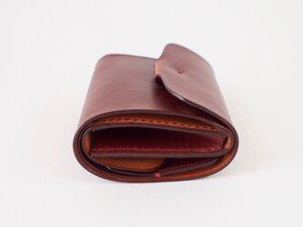 折りたたみ財布:【カラー】マホガニーの画像