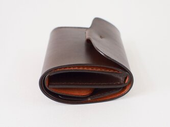 折りたたみ財布:【カラー】ダークブラウンの画像