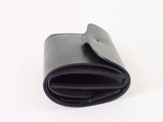折りたたみ財布:【カラー】ブラックの画像