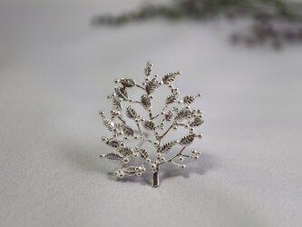 ○受注制作○Silver brooch「Grove」の画像