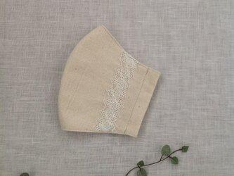 木綿 の マスク  * 送料無料 *の画像